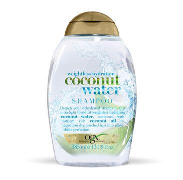 Organix Woda Kokosowa szampon nawilżająco-odżywczy 385ml