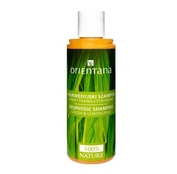 Orientana Ajurwedyjski Szampon Imbir-Trawa Cytrynowa (210 ml)