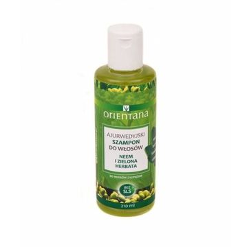 Orientana Ajurwedyjski szampon Neem i Zielona Herbata (210 ml)