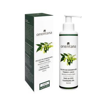 Orientana Bio olejek do demakijażu twarzy i oczu Neem 150 ml