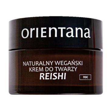 Orientana Reishi wegański krem do twarzy na noc (50 ml)