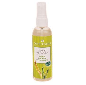 Orientana - tonik do twarzy imbir + trawa cytrynowa (100 ml)