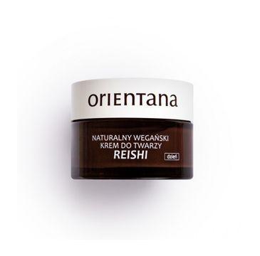 Orientana Weganski krem do twarzy na dzień Reishi (50 ml)