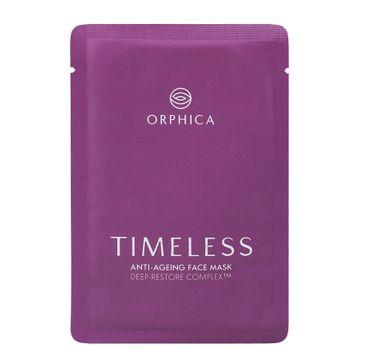 Orphica Timeless Anti-Ageing Face Mask przeciwzmarszczkowa maska w płachcie (20 ml)