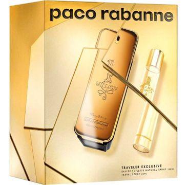Paco Rabanne 1 Million zestaw woda toaletowa spray 100ml + miniaturka wody toaletowej spray 20ml