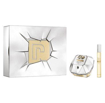 Paco Rabanne Lady Million Lucky zestaw woda perfumowana spray 80ml + miniatura wody perfumowanej 10ml