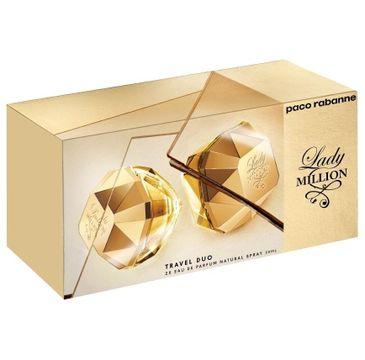 Paco Rabanne Lady Million zestaw woda perfumowana spray (2 x 30 ml)
