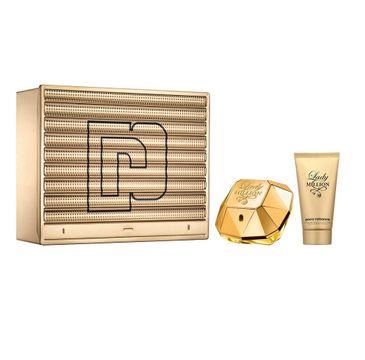 Paco Rabanne – Lady Million zestaw woda perfumowana spray 50ml + balsam do ciała 75ml (1 szt.)