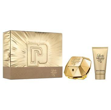Paco Rabanne – Lady Million zestaw woda perfumowana spray 80ml + balsam do ciała 100ml (1 szt.)