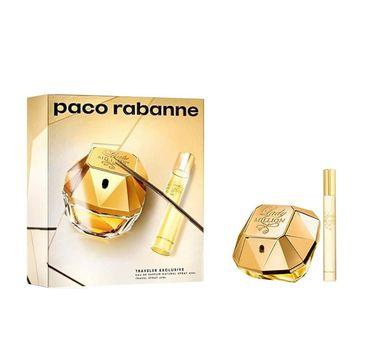Paco Rabanne Lady Million zestaw woda perfumowana spray 80ml + miniaturka wody perfumowanej spray 20ml (1 szt.)