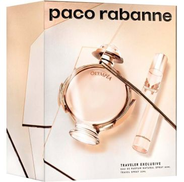 Paco Rabanne – Olympea zestaw woda perfumowana spray 80ml + miniaturka wody perfumowanej spray 20ml (1 szt.)