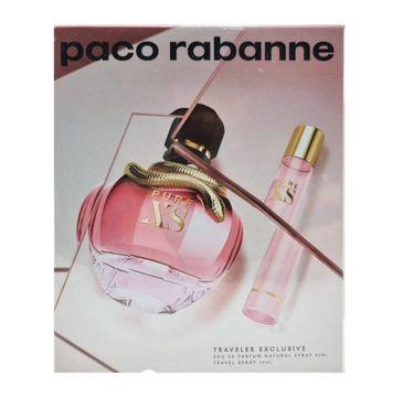 Paco Rabanne Pure XS For Her zestaw woda perfumowana spray 80ml + woda perfumowana spray 20ml (1 szt.)