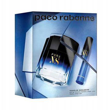 Paco Rabanne Pure XS zestaw woda toaletowa spray 100ml + woda toaletowa spray 20ml (1 szt.)