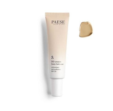 Paese DD Cream Daily Defense – krem koloryzujący 4W Golden Beige (30 ml)