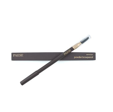 Paese Powder Brow Pencil pudrowa kredka do brwi Dark Brown (1.19 g)