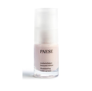 Paese Rozświetlająca baza pod makijaż w szkle (15 ml)