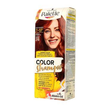 Palette Color Shampoo szampon do każdego typu włosów koloryzujący nr 218 lśniący bursztyn 50 ml