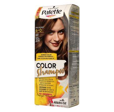 Palette Color Shampoo szampon do każdego typu włosów koloryzujący nr 231 jasny brąz 50 ml