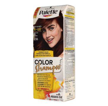 Palette Color Shampoo szampon do każdego typu włosów koloryzujący nr 236 kasztan 50 ml