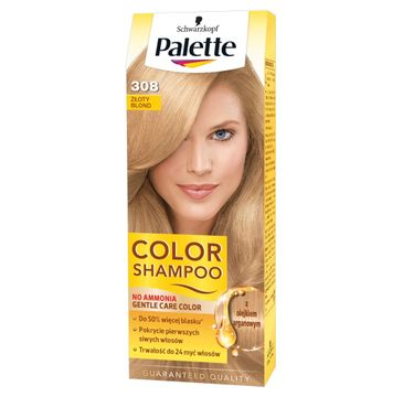 Palette Color Shampoo szampon do każdego typu włosów koloryzujący nr 308 złoty blond 50 ml