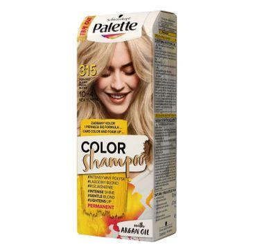 Palette Color Shampoo szampon do każdego typu włosów koloryzujący nr 315 perłowy blond 50 ml