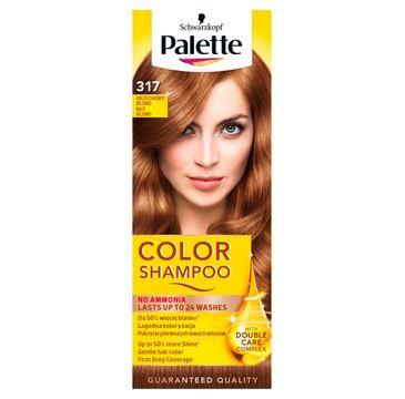 Palette Color Shampoo szampon do każdego typu włosów koloryzujący nr 317 orzechowy blond 50 ml