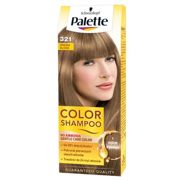 Palette Color Shampoo szampon do każdego typu włosów koloryzujący nr 321 średni blond 50 ml