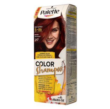 Palette Color Shampoo szampon do włosów koloryzujący nr 217 mahoń 50 ml