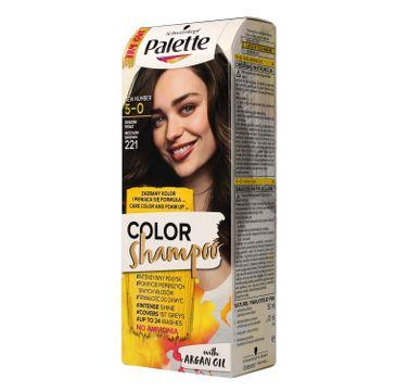 Palette Color szampon do włosów koloryzujący nr 221 brąz 50 ml