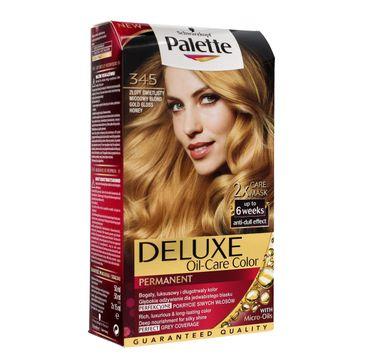 Palette Deluxe farba do każdego typu włosów permanentna nr 345 złoty świetlisty miodowy blond 100 ml