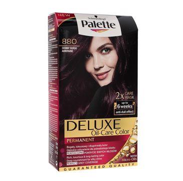 Palette Deluxe farba do każdego typu włosów permanentna nr 880 ciemny bordo 100 ml
