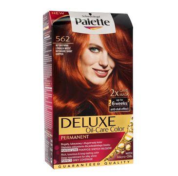 Palette Deluxe farba do włosów nr 562 intensywna lśniąca miedź 100 ml