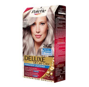 Palette Deluxe farba do włosów permanentna nr 240 Popielaty Chłodny Blond 1 op.