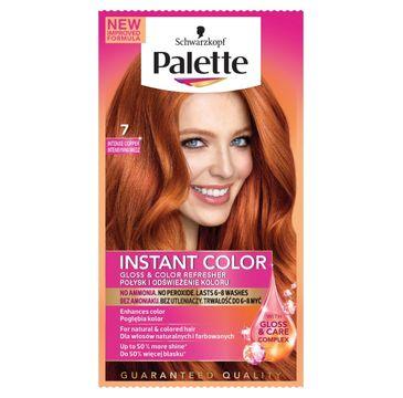 Palette Instant Color szamponetka do każdego typu włosów koloryzująca intensywna miedź nr 7 25 ml