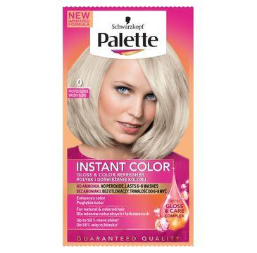 Palette Instant Color szamponetka do każdego typu włosów koloryzująca mroźny blond nr 0 25 ml