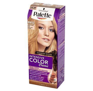 Palette Intensive Color Creme krem do każdego typu włosów koloryzujący nr BW12 jasny blond nude 50 ml