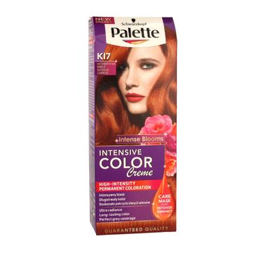 Palette Intensive Color Creme krem do każdego typu włosów koloryzujący nr K 17 intensywna miedź 50 ml