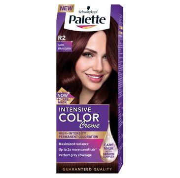 Palette Intensive Color Creme krem do każdego typu włosów koloryzujący nr R2 ciemny mahoń 50 ml