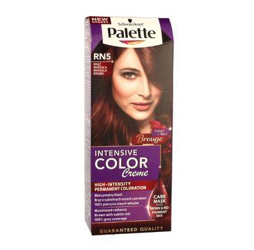 Palette Intensive Color Creme krem do każdego typu włosów koloryzujący nr RN 5 brąz marsala 50 ml