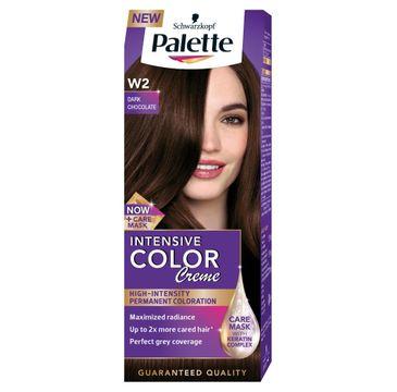 Palette Intensive Color Creme krem do każdego typu włosów koloryzujący nr W2 ciemna czekolada 50 ml