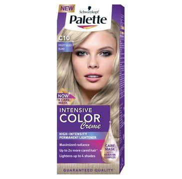Palette Intensive Color Creme krem do różnych typów włosów koloryzujący nr C10 mroźny srebrny blond 50 ml