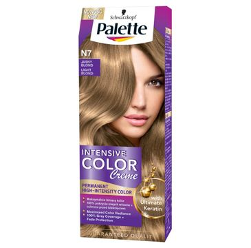 Palette Intensive Color Creme Krem koloryzujący nr N7-jasny blond 50 ml