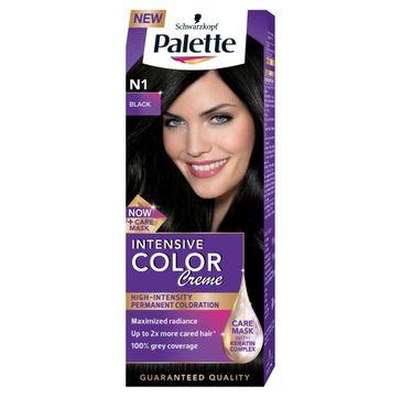 Palette Intensive Color krem do włosów koloryzujący nr N 1 czerń 100 ml