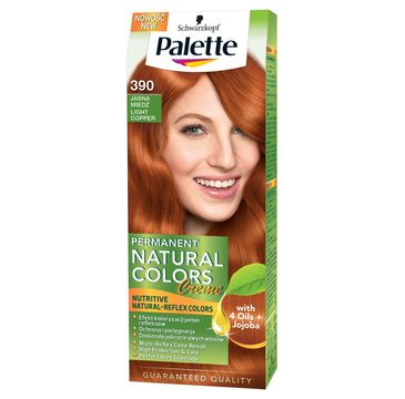 Palette Permanent Natural Colors krem do każdego typu włosów czysta miedź nr 390 50 ml