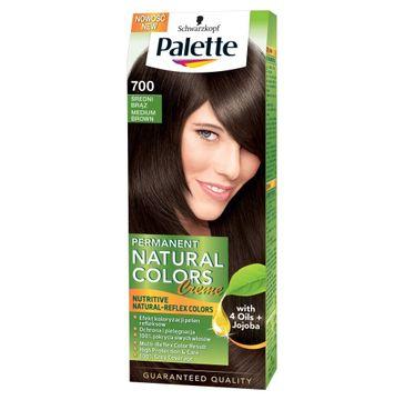 Palette Permanent Natural Colors krem do każdego typu włosów koloryzujący średni brąz nr 700 50 ml