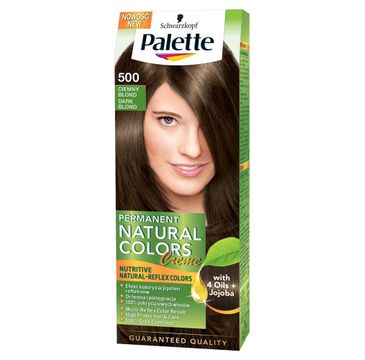 Palette Permanent Natural Colors krem do włosów koloryzujący ciemny blond nr 500 50 ml