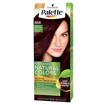 Palette Permanent Natural Colors krem do włosów koloryzujący czekoladowy brąz nr 868 50 ml