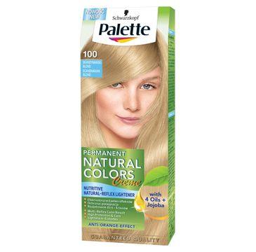 Palette Permanent Natural Colors krem do włosów skandynawski blond nr 100 50 ml