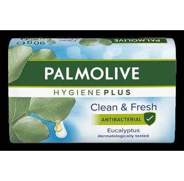 Palmolive Hygiene Plus Mydło w kostce Eukaliptusowe (90 g)