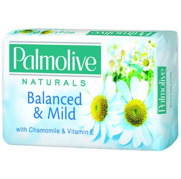 Palmolive mydło w kostce do każdego typu skóry białe z vitaminą E 90 g